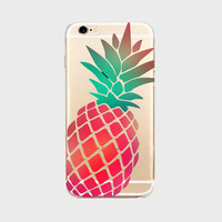 Summer Pineapple Case for iPhone 5s 5s 6 6s plus 7 7 plus