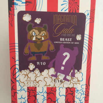 vinylmation imagination gala popcorns beast limited new in sealed box variant?