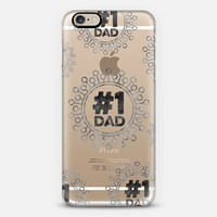 #1 Dad iPhone 6 case by Noonday Design | Casetify