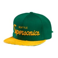 Just Don M&N Supersonics Script (Green/Yellow-Matte/Green)
