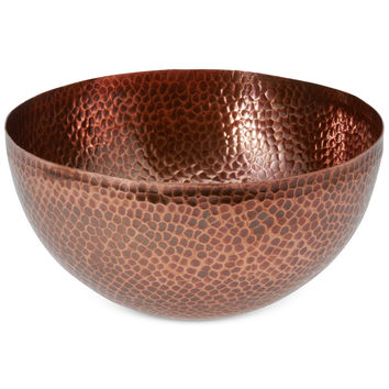 Thirstystone Hammered Copper Medium Bowl | macys.com