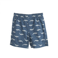 crewcuts Boys Cotton Boxers In Faded Whales