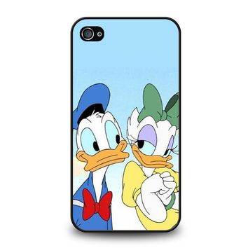 DONALD AND DAISY DUCK Disney iPhone 4 / 4S Case Cover