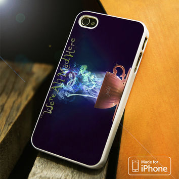 Alice In Wonderland Cheshire Cat iPhone 4S/5S/5C/SE/6S Plus Case