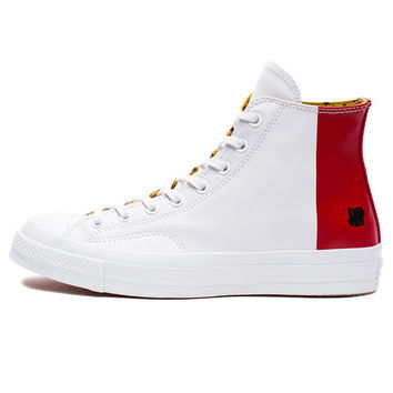 UNDEFEATED X CONVERSE CHUCK TAYLOR 1970 HI - WHITE/RED | Undefeated