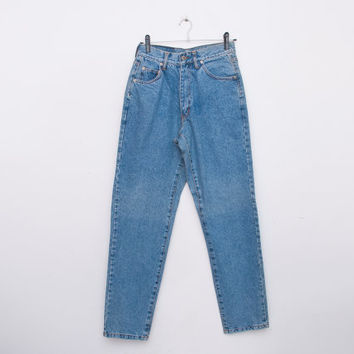 NOS Vintage 90 blue jeans high waist mom jeans
