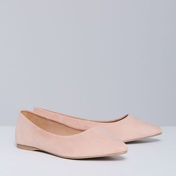 Pointed-Toe Flat | Lane Bryant