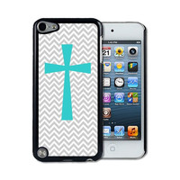 IPod 5 Touch Case Thinshell Case Protective IPod 5G Touch Case Shawnex Cross Micro Chevron