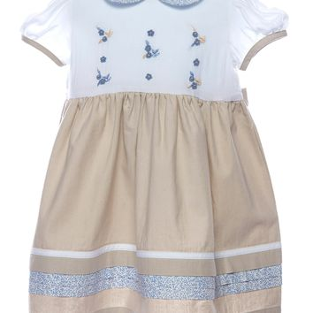 Carriage Boutique Baby Girl Short Sleeve Dress