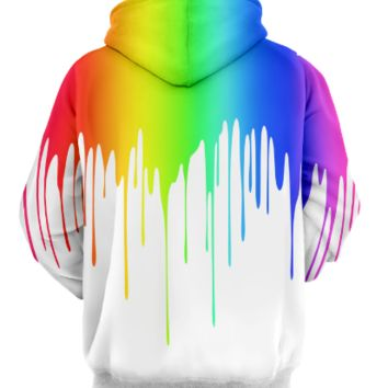 Hooded 3D printing inkjet painting creative hat sweater coat = 9982027462