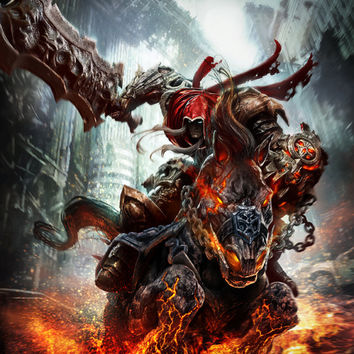 Darksiders War Ruin Video Game Poster 18x24