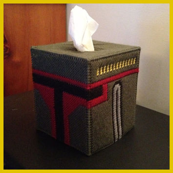 Star Wars Boba Fett Tissue Box Cover