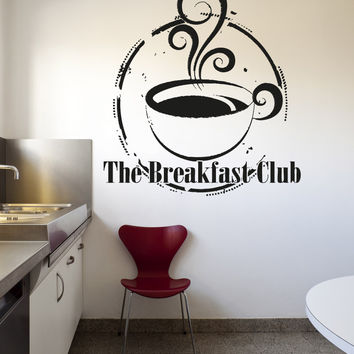 Vinyl Wall Decal Sticker Breakfast Club #OS_AA1419
