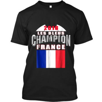 2018 France Soccer TShirt Team Les Bleus Cup tees Custom Ultra Cotton