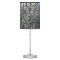 Quiet Forest Table Lamps