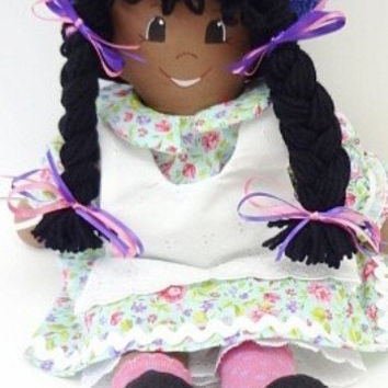 rag doll handmade hand made rag dolls cloth rag doll handmade ragdoll soft cloth body toddler toy doll for small girls NF163