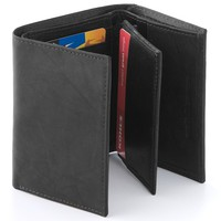 Croft & Barrow Leather Trifold Wallet