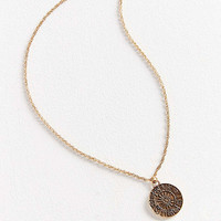 Rising Sign Pendant Necklace | Urban Outfitters