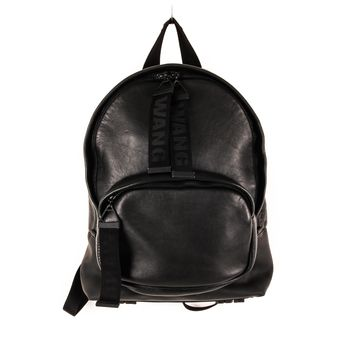 Alexander Wang Leather Backpack with Oversized Zipper Pulls