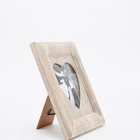Limewash Heart Photo Frame - Urban Outfitters