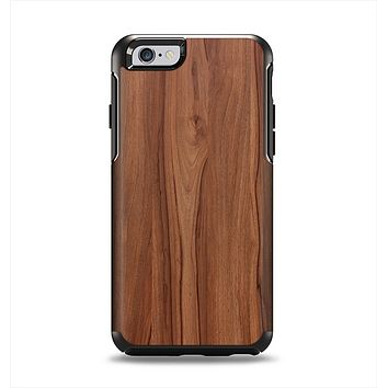 The Smooth-Grained Wooden Plank Apple iPhone 6 Otterbox Symmetry Case Skin Set