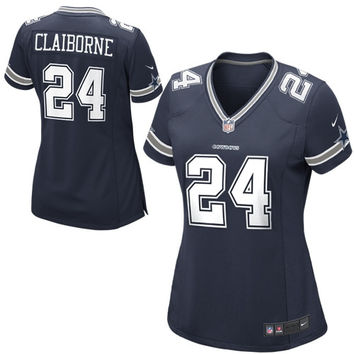 Dallas Cowboys Nike Girls Youth Replica Game Jersey – Navy Blue - http://www.shareasale.com/m-pr.cfm?merchantID=7124&userID=1042934&productID=525823936 / Dallas Cowboys