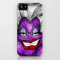 The Sea Witch iPhone & iPod Case by Mandie Manzano
