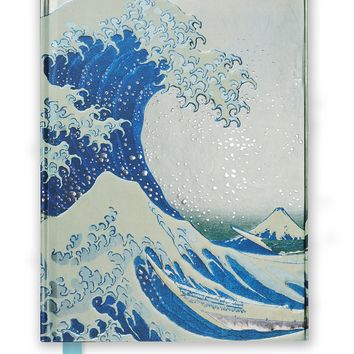 Hokusai the Great Wave Flame Tree Notebooks JOU