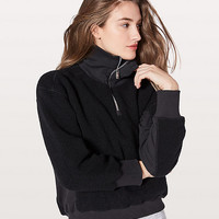 Stand Out Sherpa 1/2 Zip | Women's Long Sleeves | lululemon athletica