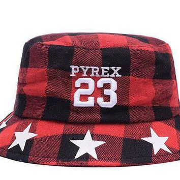 Full Leather Bucket Hats Pyrex 23
