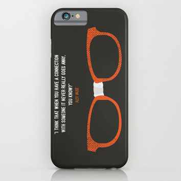"""when you have a connection with someone it never goes away"" Alex Vause OITNB iPhone & iPod Case by :: Fan Art ::"