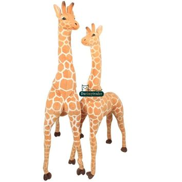 Giraffe Realistic Giant Stuffed Animal Plush Toy