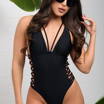 Punta Cana One Piece Swimsuit - Black