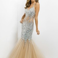 Blush 9702 at Prom Dress Shop