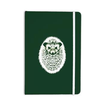 "BarmalisiRTB ""Hedgehog"" Green White Everything Notebook"