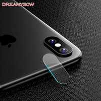 For Apple iPhone X 8 7 6 6S   XS MAX XR Back Camera Lens Screen Protector Full Cover Tempered Glass Film