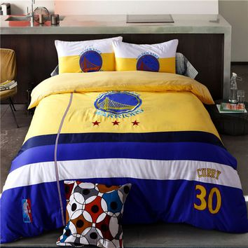 NBA Golden State Warriors Bedding Sets Twin Queen Size | EBeddingSets