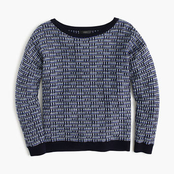 J.Crew Womens Tweed Pullover Sweater