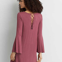 AEO Soft & Sexy Lace-Up Back, Mauve