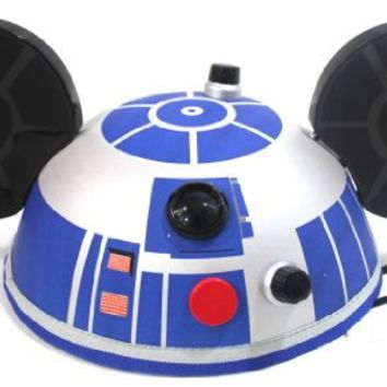 Disney Parks Star Wars R2 D2 Mickey Ears Hat