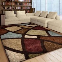 RUGS AREA RUGS CARPET FLOORING AREA RUG HOME DECOR MODERN SHAG RUGS SALE NEW  ~