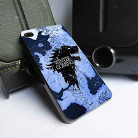 Game of Thrones winter is coming customized for iphone 4/4s/5/5s/5c ,samsung galaxy s3/s4/s5, and ipod 4/5