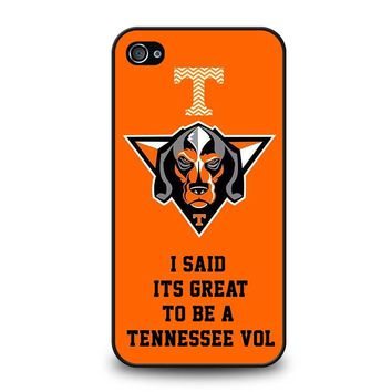 TENNESSEE VOLUNTEERS VOLS iPhone 4 / 4S Case Cover