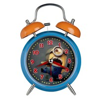 Despicable Me 2 Minion Bell and Hologram Alarm Clock DMC109 (Blue)