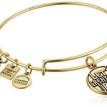 Alex and Ani Charity By Design Let Creativity Rule Bangle Bracelet