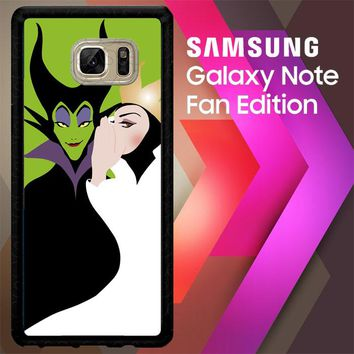 Disney Evil Queen Y0750 Samsung Galaxy Note FE Fan Edition Case