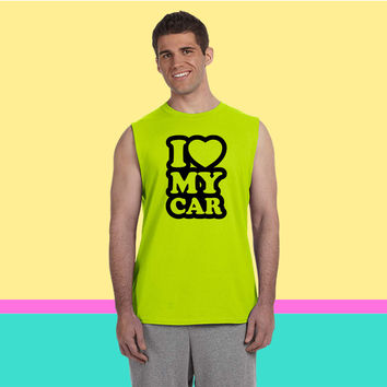 I love my cars Sleeveless T-shirt