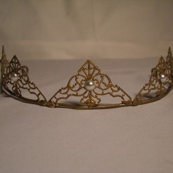 Weddings Bridal Medieval Renaissance Inspired Brass by Jalall