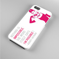 Audrey Hepburn Quote Pink Iphone 5s Case
