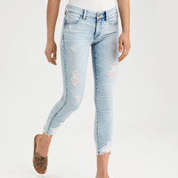 AE Ne(X)t Level Jegging Crop, Icy Blue